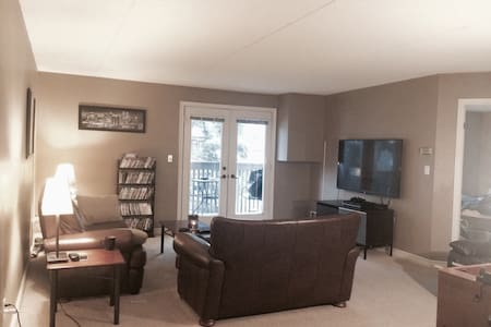 1100 sq ft. condo in forested area - Burlington