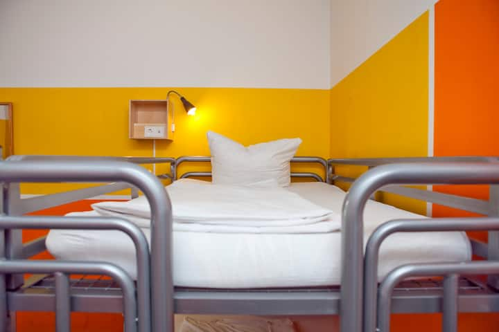 Bed in 4 Bed Dorm