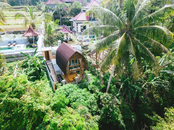 Ultimate Serene Cottage Inside Village of Ubud