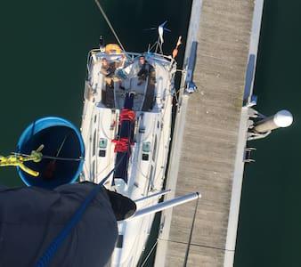 Hébergement sur un voilier dans le port de Vannes - Vannes