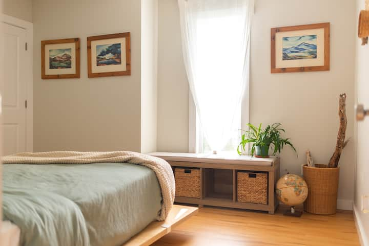 Peaceful Guest Room