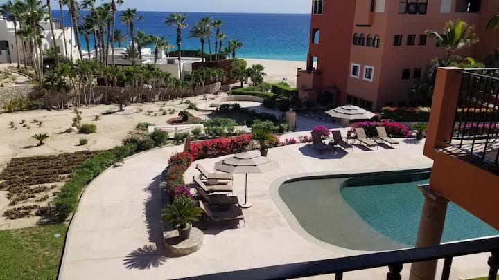 Penthouse view of the Turquoise Blue Sea of Cortez