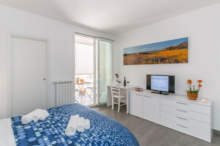 B&B Bianco e Blu - Double Room - 50m by the sea