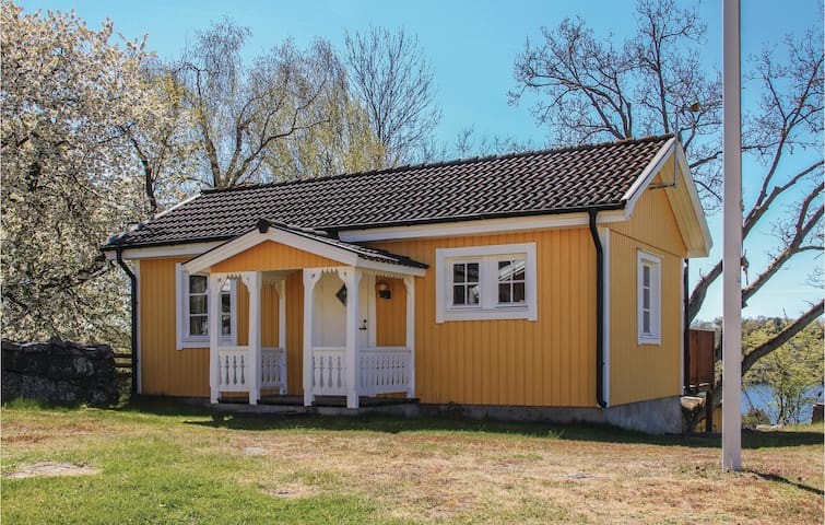 Holiday cottage with 1 room on 35 m² in Ronneby