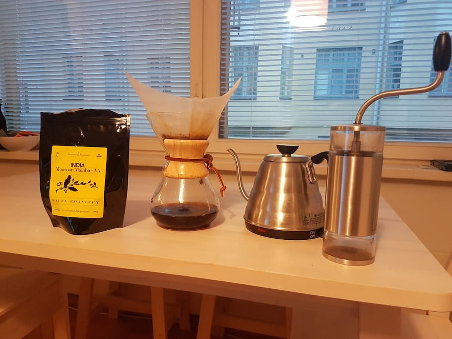 Chemex for coffeehipsters