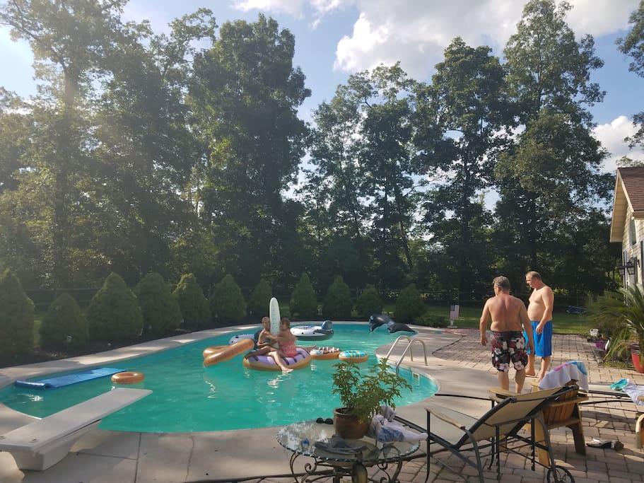 Pool days
