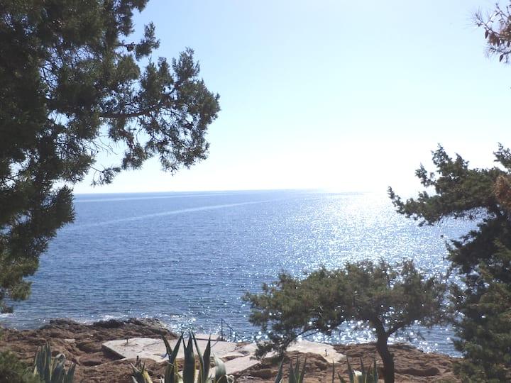 Bungalow on the coast of Sounio