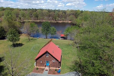 Private LAKE w/ ISLAND -142  Acres- 5 MILES TRAILS