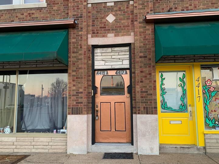 The Bronze Door at the Baker's Building