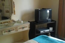 Apartment in Sporting 5 minutes walk to the beach.