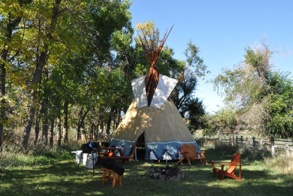 Full Camp Site, fire pit, sleeps 4