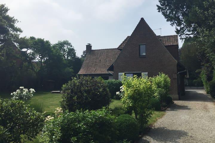 Villa individuelle au pied du Parc Barbieux