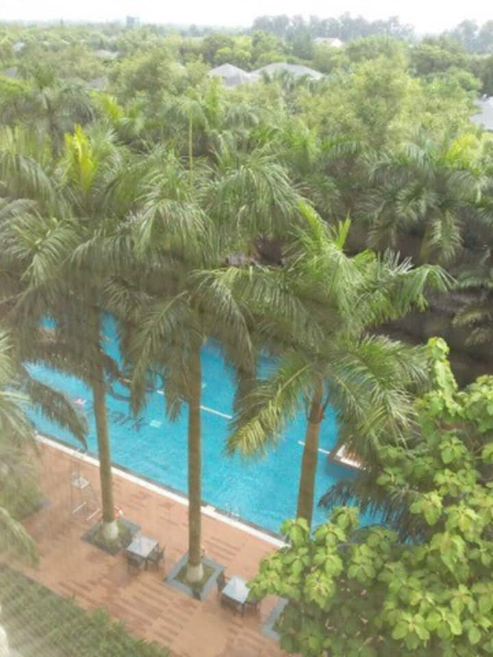 71m 2 Bedrooms  Rừng Cọ Ecopark nice view for rent