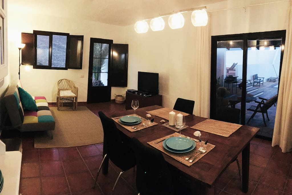 Salón-cocina