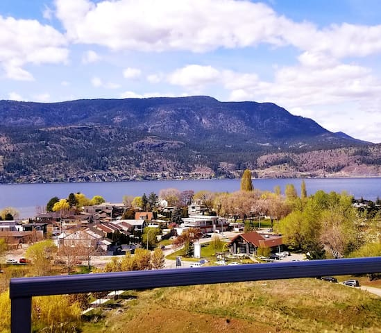 Downtown Kelowna Condo w/ Lake View