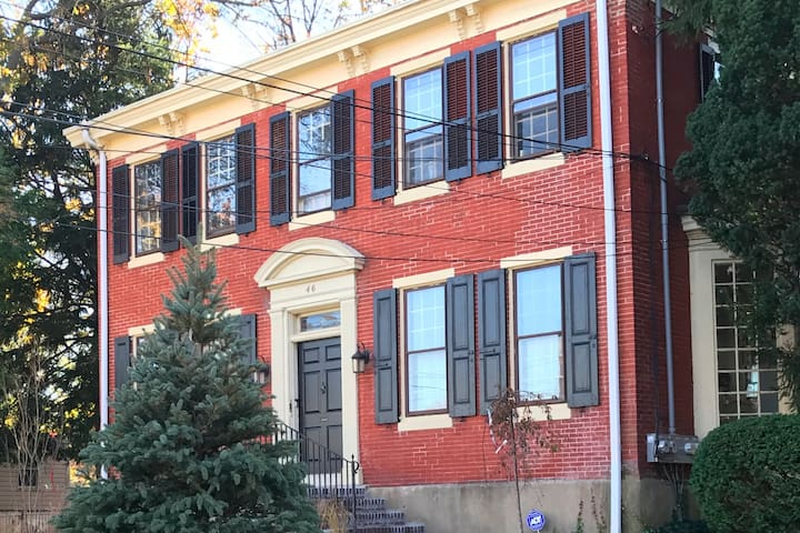 Front Second Floor Private Apartment in a Colonial Revival Home in Beautiful Lansdowne, PA - Built 1890