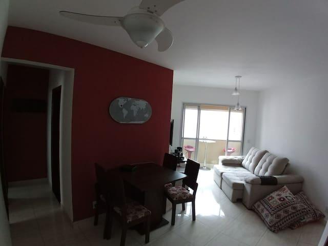 Apartamento bem localizado e super aconchegante