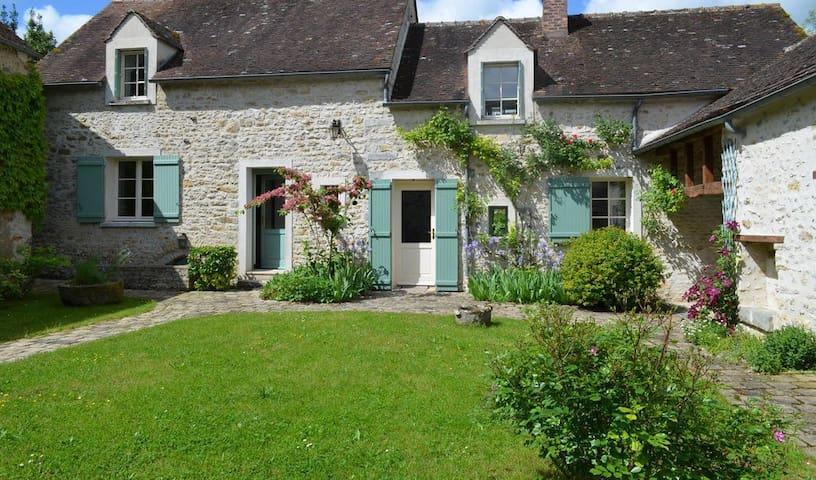 Jolie maison de campagne en pierre - Boissy-aux-Cailles - 一軒家