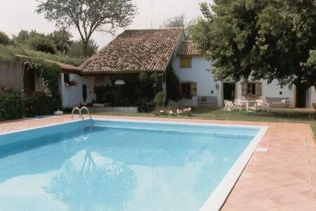 The three chimneys, villa with pool - San Germano dei Berici - Villa