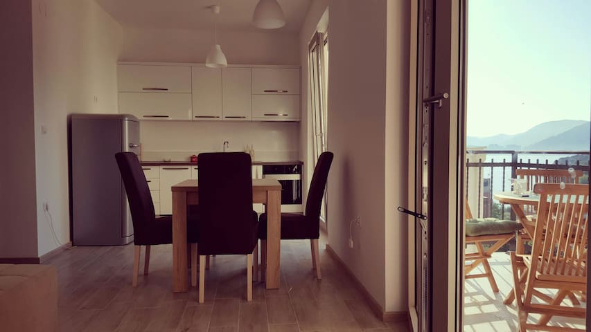 Beatiful flat with a wonderful view