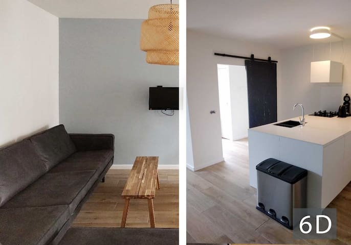 Tussen Dijken - 6 to 8 Person Appartment A