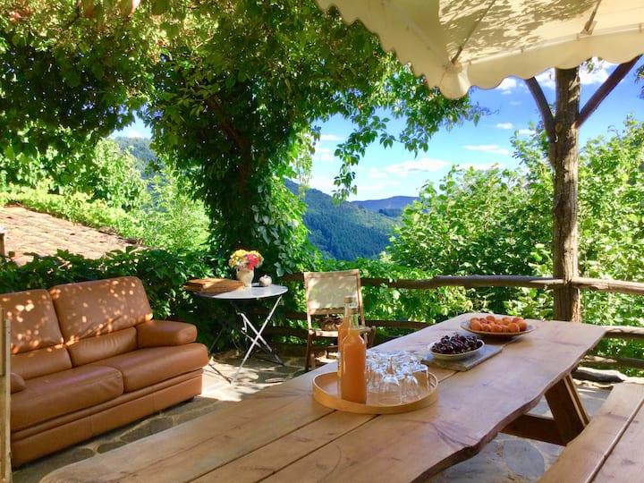 Gîte 15 places au coeur des Monts d'Ardèche