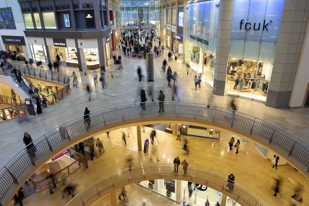 Only 5min walk to the Bullring Shopping Center
