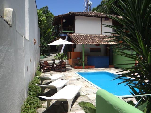 CASA com piscina em condomínio Arraial d'Ajuda - Arraial d'Ajuda - Talo