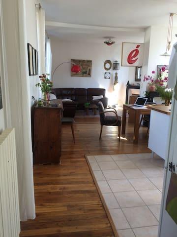 Chambre dans belle maison à deux pas du centre ville - Auxerre - Huis