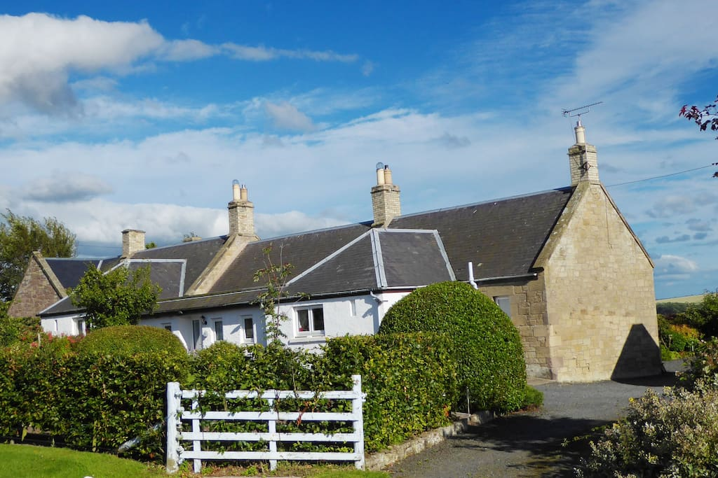 Babingtons Cottage Entrance