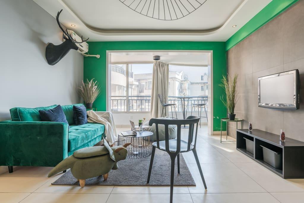 精致休闲的房屋客厅,每一处都经过用心的布置!