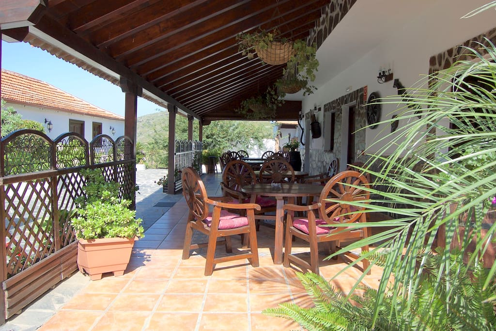 Terraza Bar Restaurante Hotel