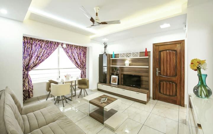 Rahul Residency{2 bedroom apartment}