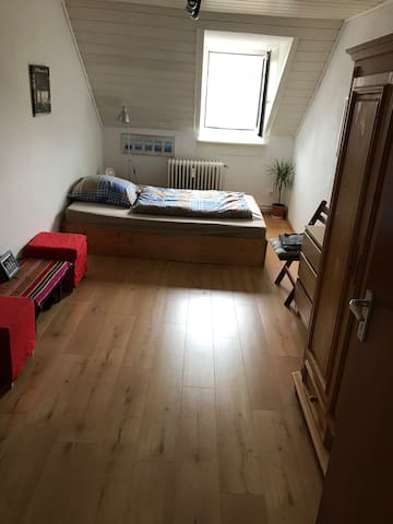 Room very central located to HBF/Messe/City