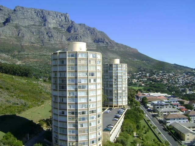 Amazing views from the slopes of table mountain