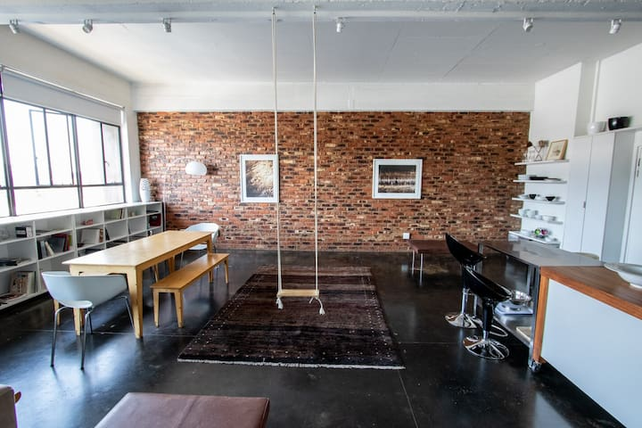 Pent house in the heart of Maboneng