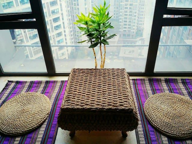 """重庆森林""解放碑、观音桥商圈附近公寓Good location condo near subway - Chongqing - Apartemen"