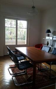 Flat in Geneva with high ceilings and green view - Genebra