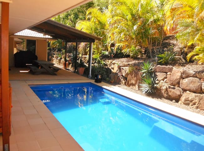 Guests have use of entertainment area/swimming pool.
