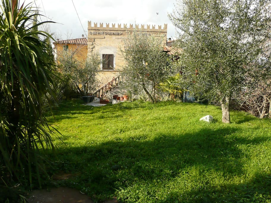Use our inviting garden with it's 3 terraces, your private balcony. Enjoy oleanders, the olive trees, eat figues in august, fresh from the 200 years old figue tree.