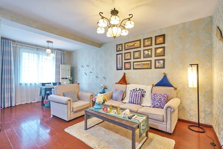 吴山鼓楼旁 河坊街 南宋御街 西湖步行可至  精装温馨两房 【奎】 - Hangzhou - Appartement