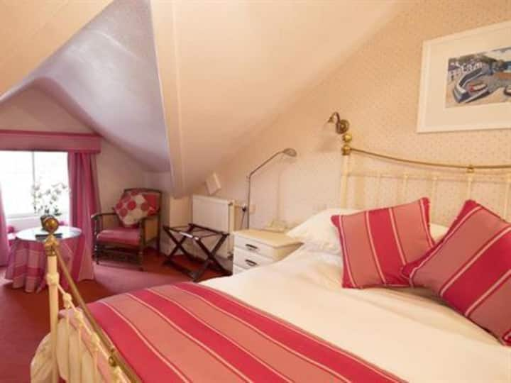 Double room at Bishopsgate House Hotel