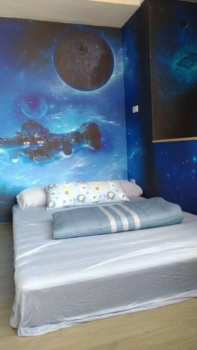 宇宙探險房(雙人床)