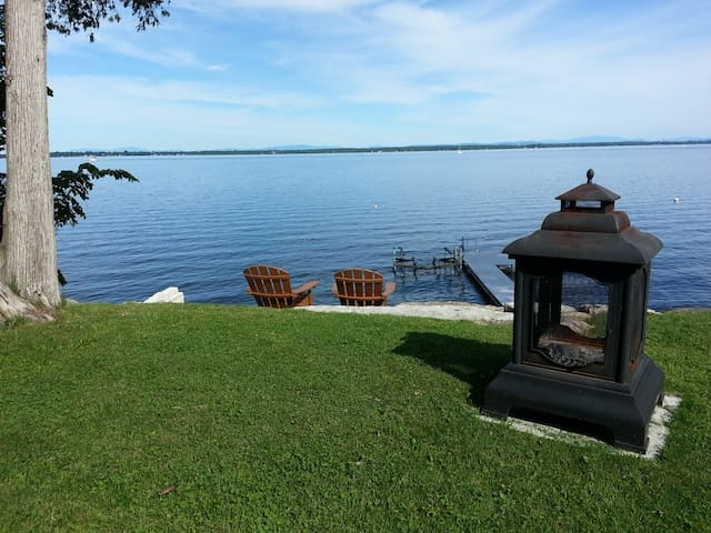 Lakefront Home - Lake Champlain - Rouses Point - Ev