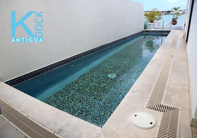 K Dock - Luxury Boat House w/ Private Pool & Dock