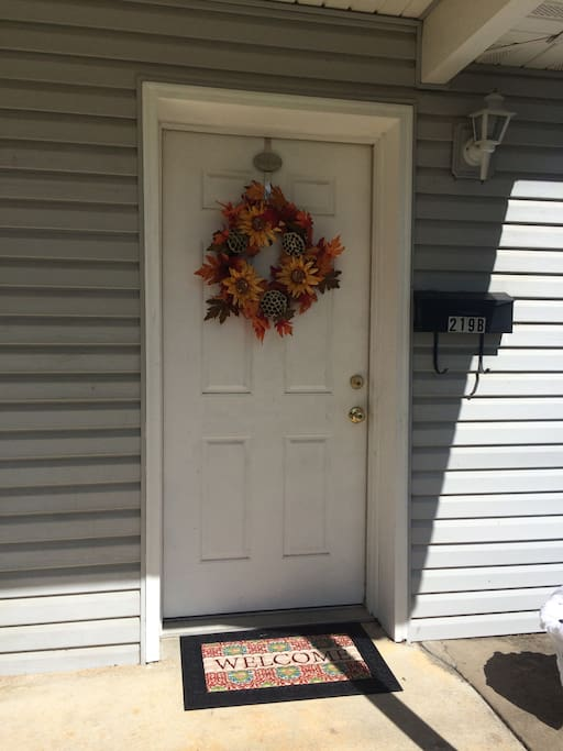 Front Door Entryway