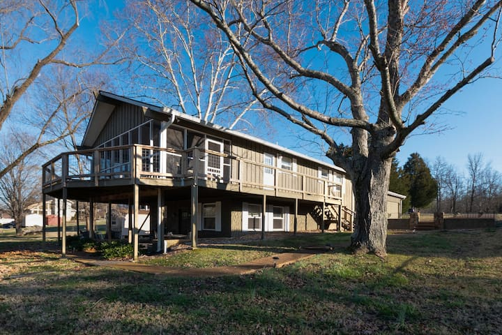 ★Lake Home In Greater Nashville ★Old Hickory Lake★