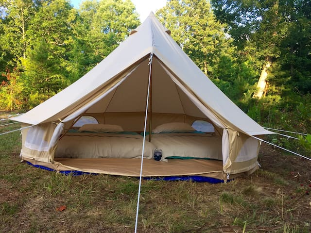Furnished Tent Glamping in Dahlonega - Dawsonville - Zelt