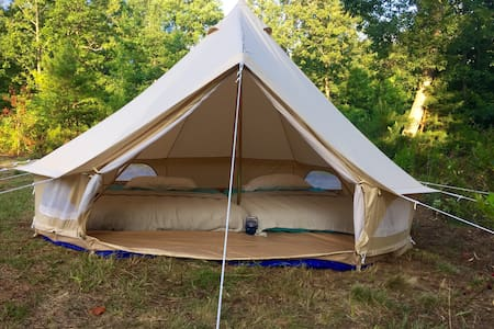 Furnished Tent Glamping in Dahlonega - Dawsonville
