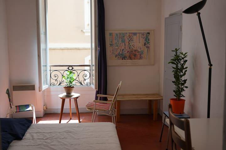 Chambre calme au centre ville de Marseille